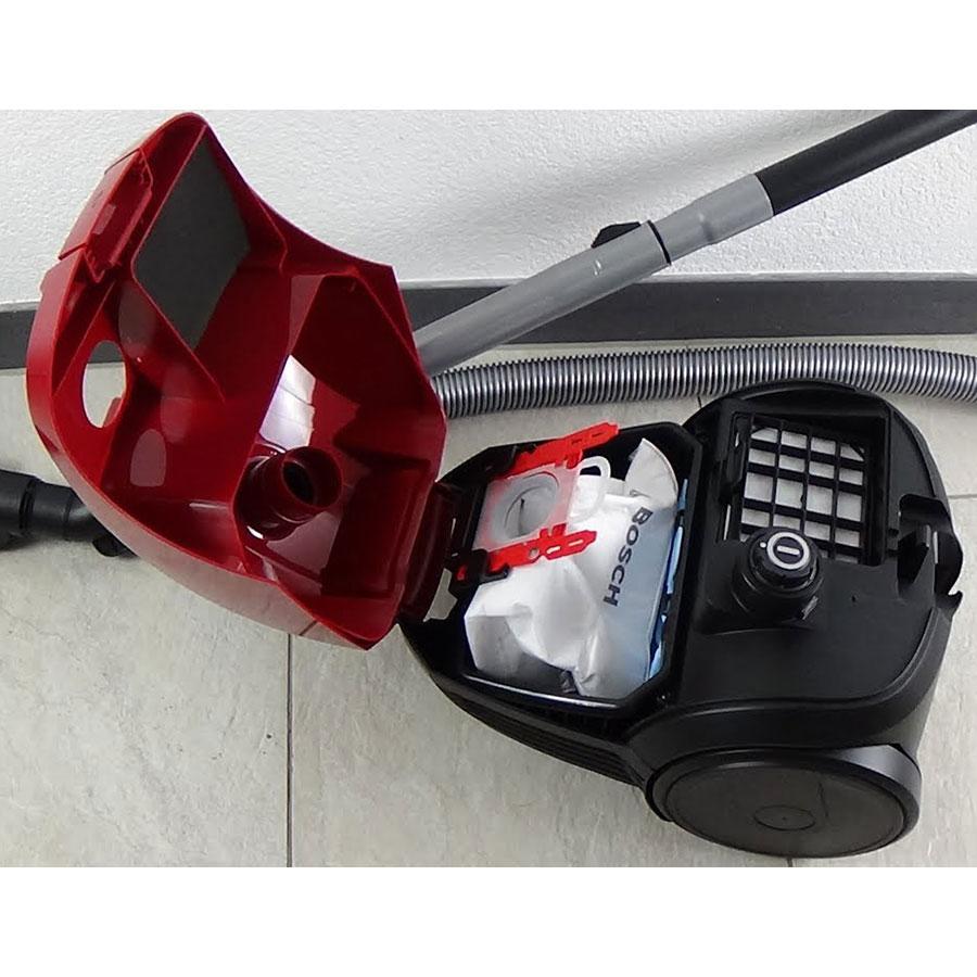 Bosch BZGL2A310 Compaxx'x - Compartiment à sac ouvert