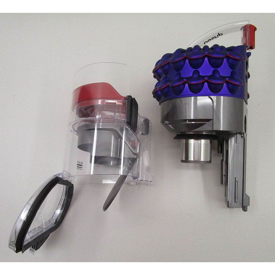 Dyson Cinetic Big Ball Parquet 2+ - Réservoir à poussières avec son filtre sorti