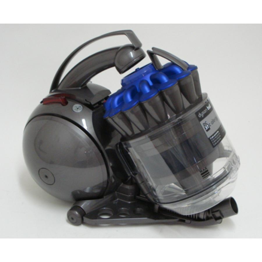 Dyson DC37C Allergy - Retrait du compartiment à poussières
