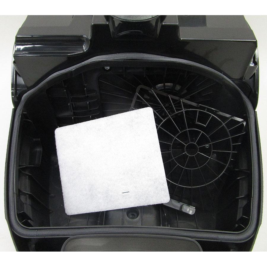 Electrolux ESP74Green Silent Performer - Filtre entrée moteur sorti