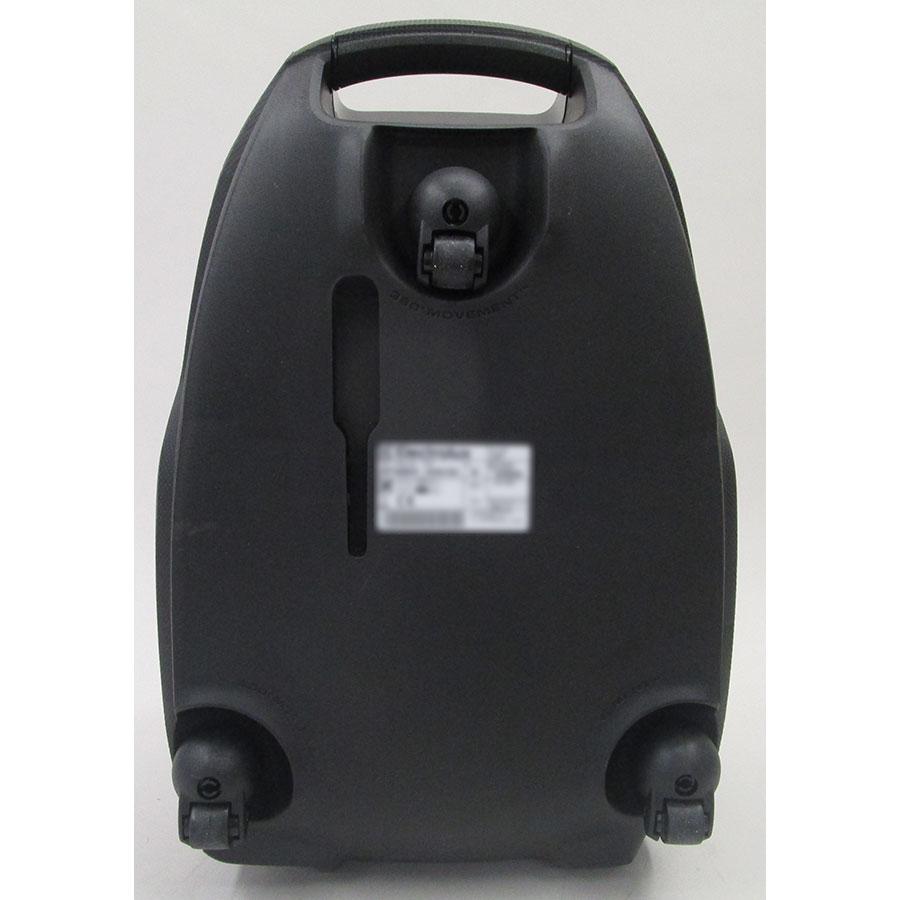 Electrolux ESP74Green Silent Performer - Roulettes pivotantes à 360°