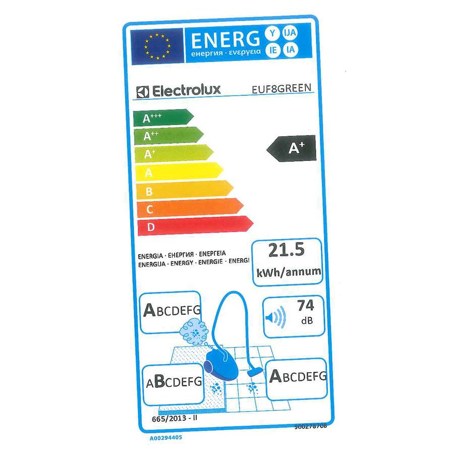 Electrolux EUF8Green UltraFlex green - Étiquette énergie