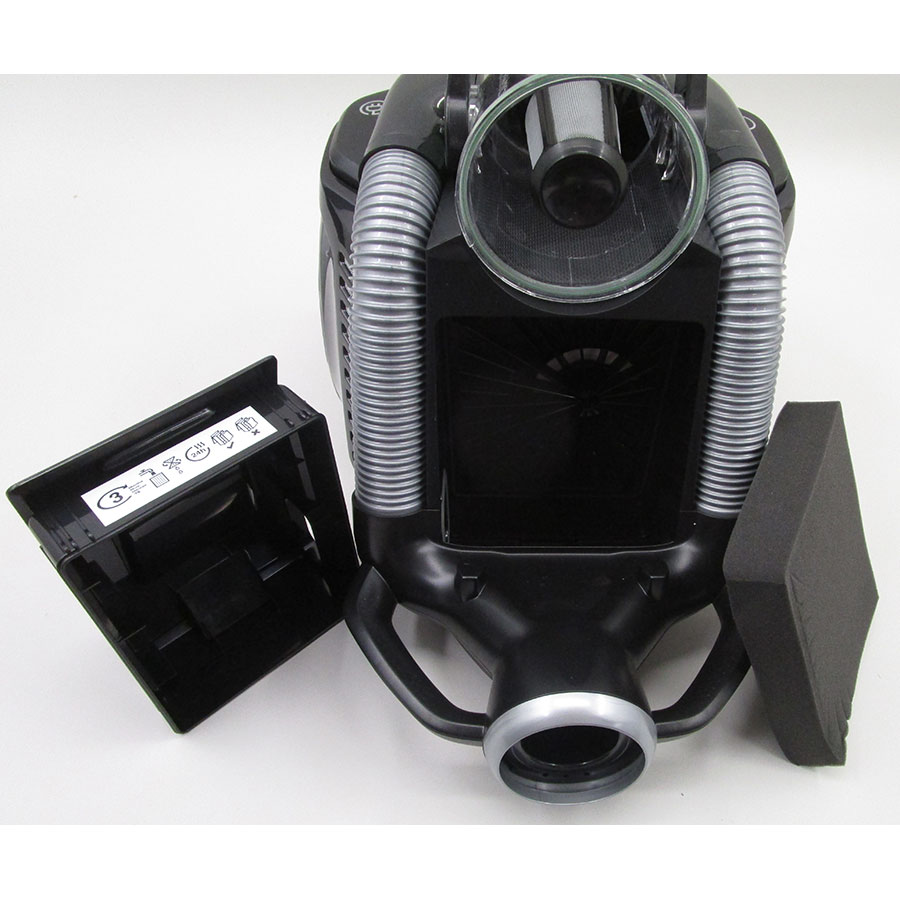 Electrolux EUF8Green UltraFlex green - Filtre entrée moteur sorti