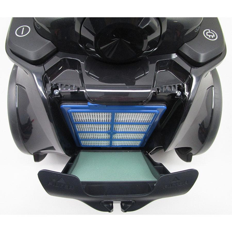 Electrolux EUF8Green UltraFlex green - Filtre sortie moteur
