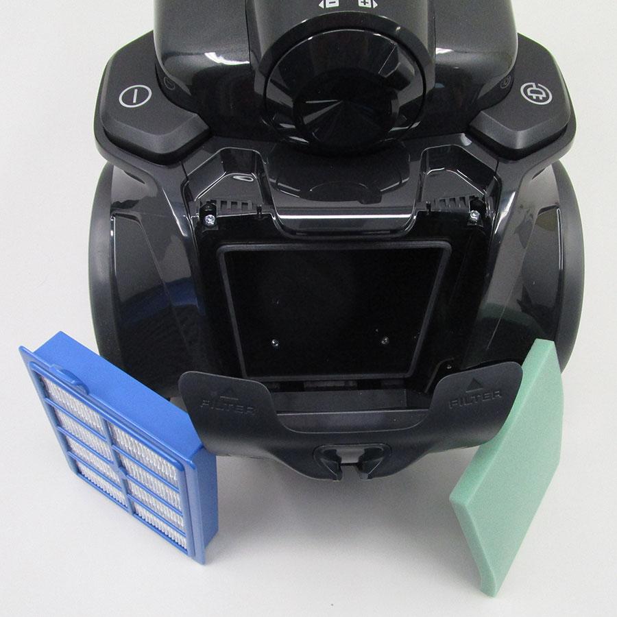 Electrolux EUF8Green UltraFlex green - Filtre sortie moteur sorti