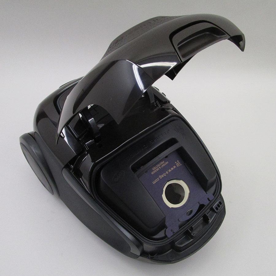 Electrolux EUS85BR UltraSilencer Zen - Compartiment à sac ouvert
