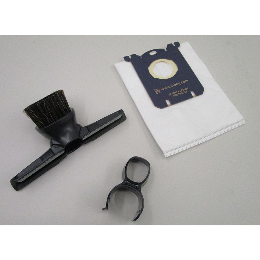 Electrolux EUS85BR UltraSilencer Zen - Accessoires livrés avec l'appareil