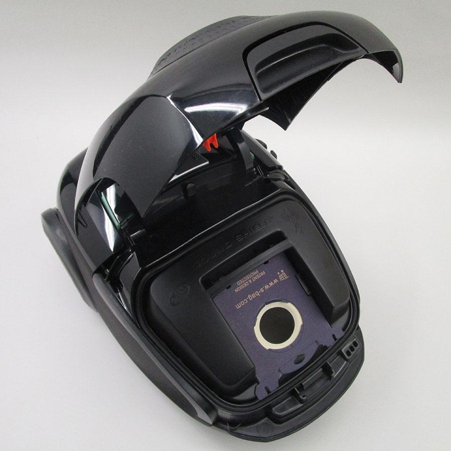 Electrolux EUS8Green UltraSilencer Zen - Compartiment à sac ouvert