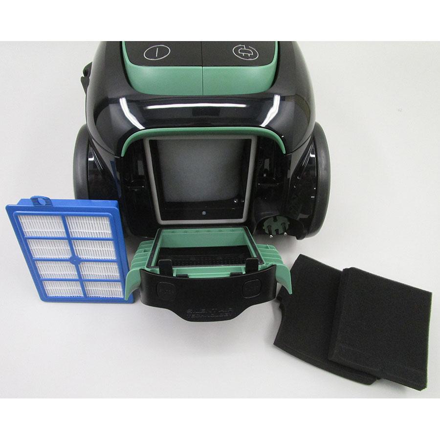 Electrolux EUS8Green UltraSilencer Zen - Filtre sortie moteur sorti