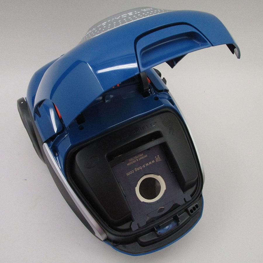 Electrolux EUS8X2CB Ultrasilencer - Compartiment à sac ouvert