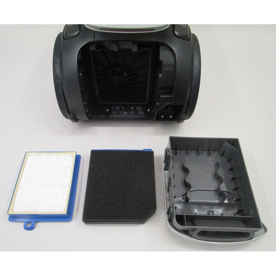 Electrolux PC91-4MG Pure C9  - Filtre sortie moteur sorti