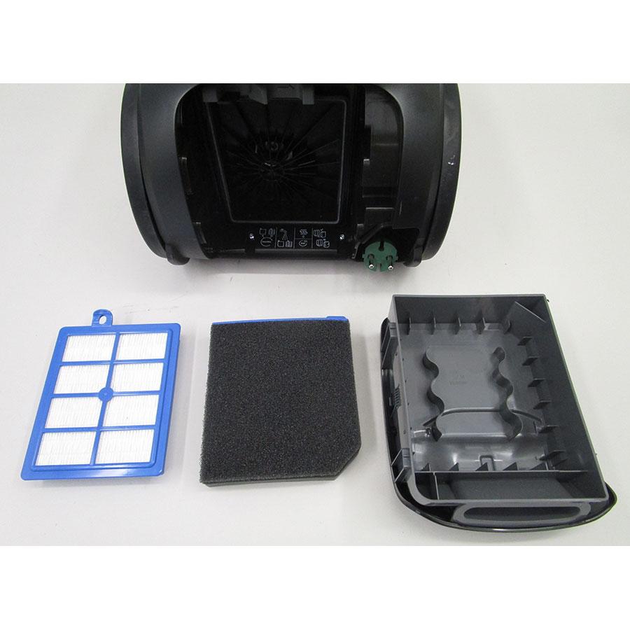 Electrolux PC91-Green Pure C9 - Filtre sortie moteur sorti