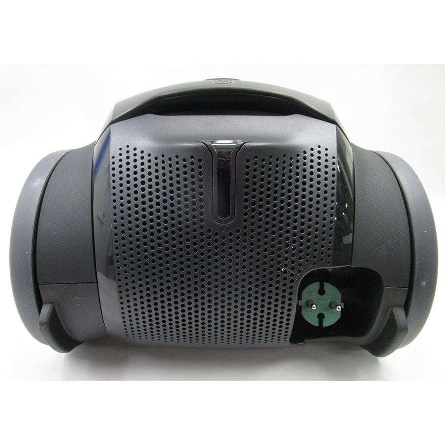 Electrolux PD82-Green Pure D8.2 - Fixe tube arrière et sortie de câble