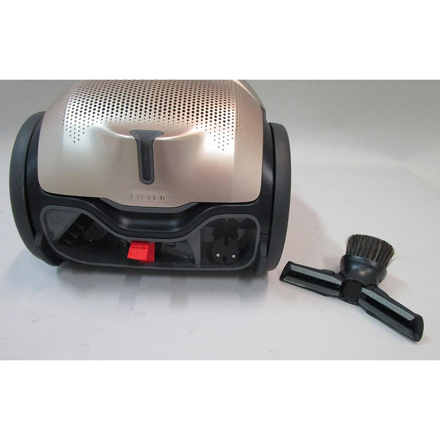 Electrolux PD91-8SSM Pure D9 - Compartiment de rangement des accessoires