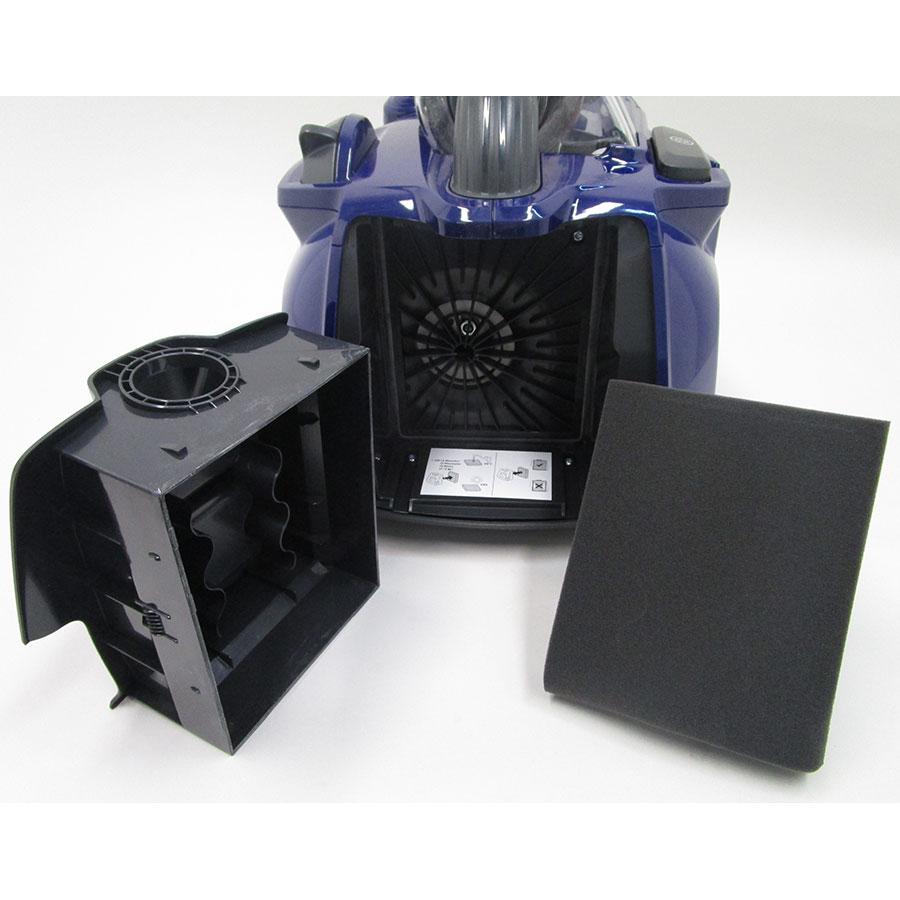 Electrolux ZSPCClass SilentPerformer - Filtre sortie moteur retiré