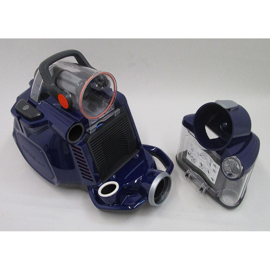 Electrolux ZSPCClass SilentPerformer - Bac à poussières sorti