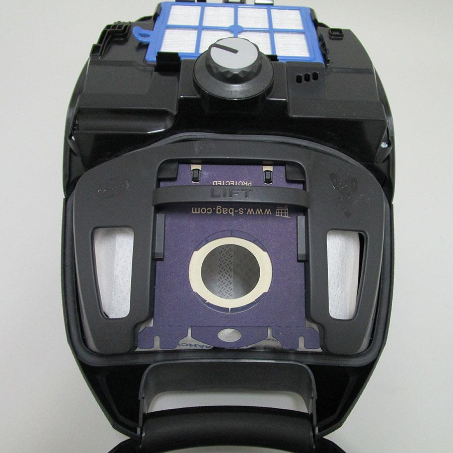 Electrolux ZSPGreen Silent Performer - Sac à poussières sur son support
