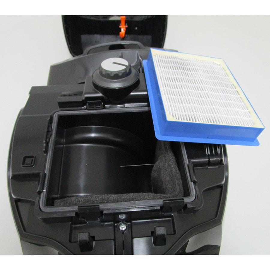 Electrolux ZSPGreen Silent Performer - Filtre sortie moteur sorti