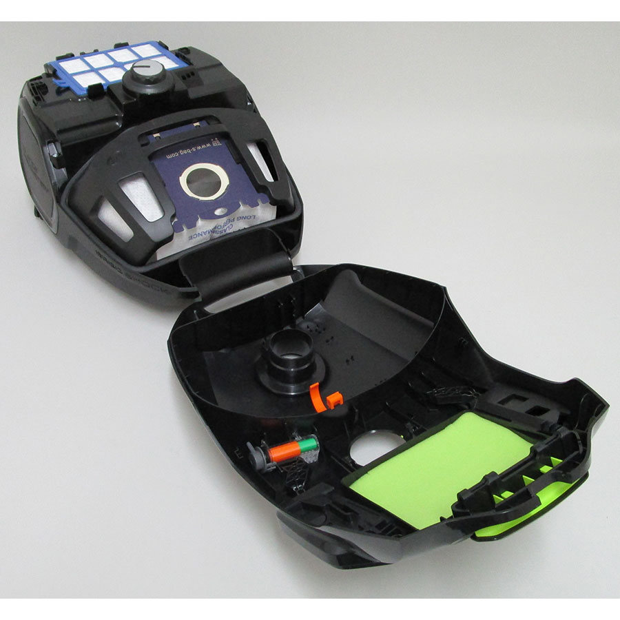 Electrolux ZSPGreen Silent Performer - Compartiment à sac ouvert