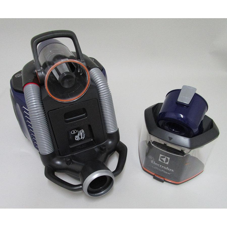 Electrolux Zufclassic Ultraflex - Bac à poussières sorti