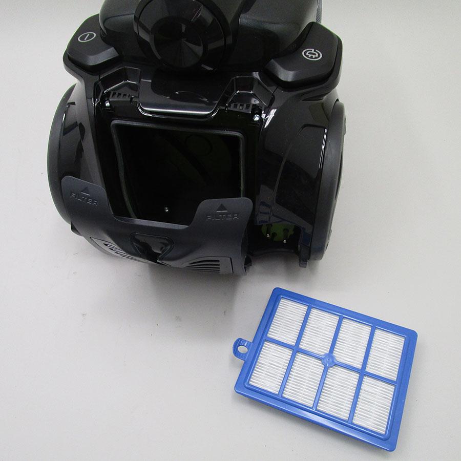 Electrolux Zufgreen ultraflex - Filtre sortie moteur sorti