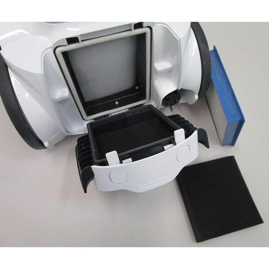 Electrolux Zusanima58 UltraSilencer Zen - Filtre sortie moteur sorti