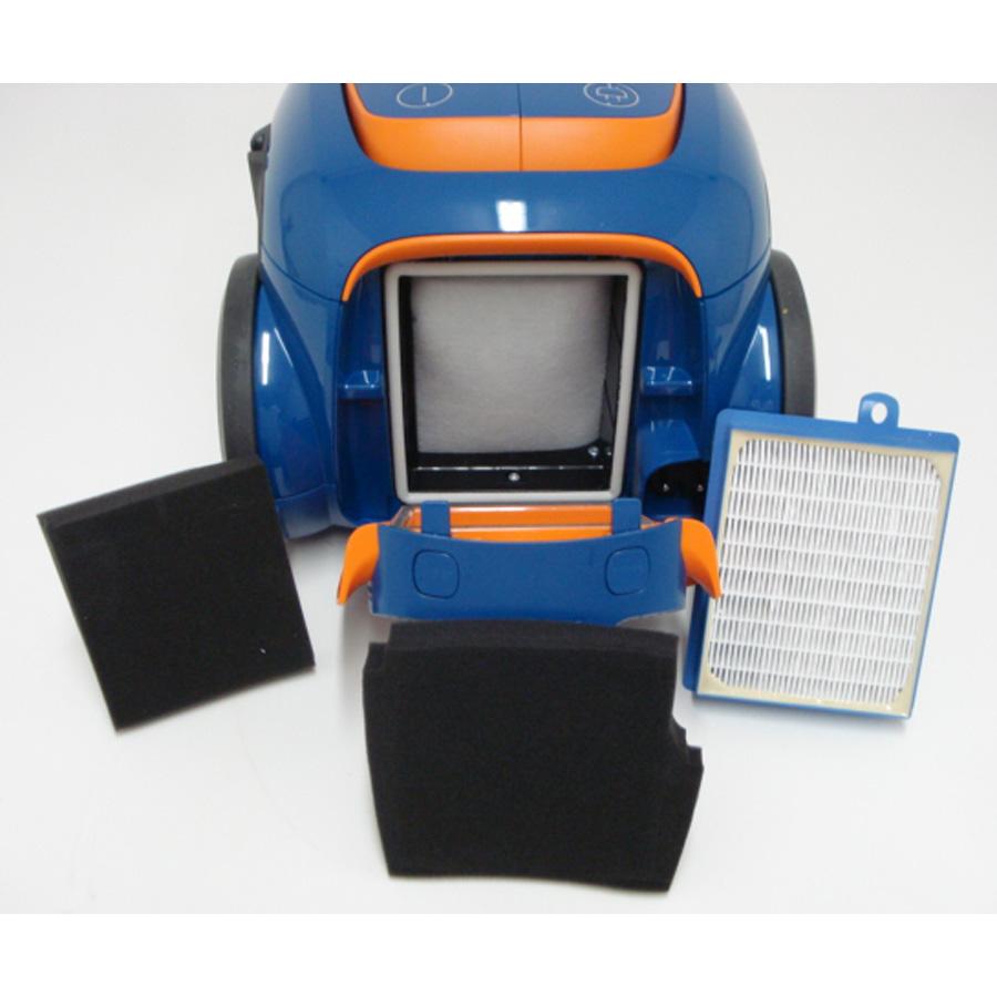 Electrolux Zusenergy Ultra Silencer - Filtre sortie moteur sorti