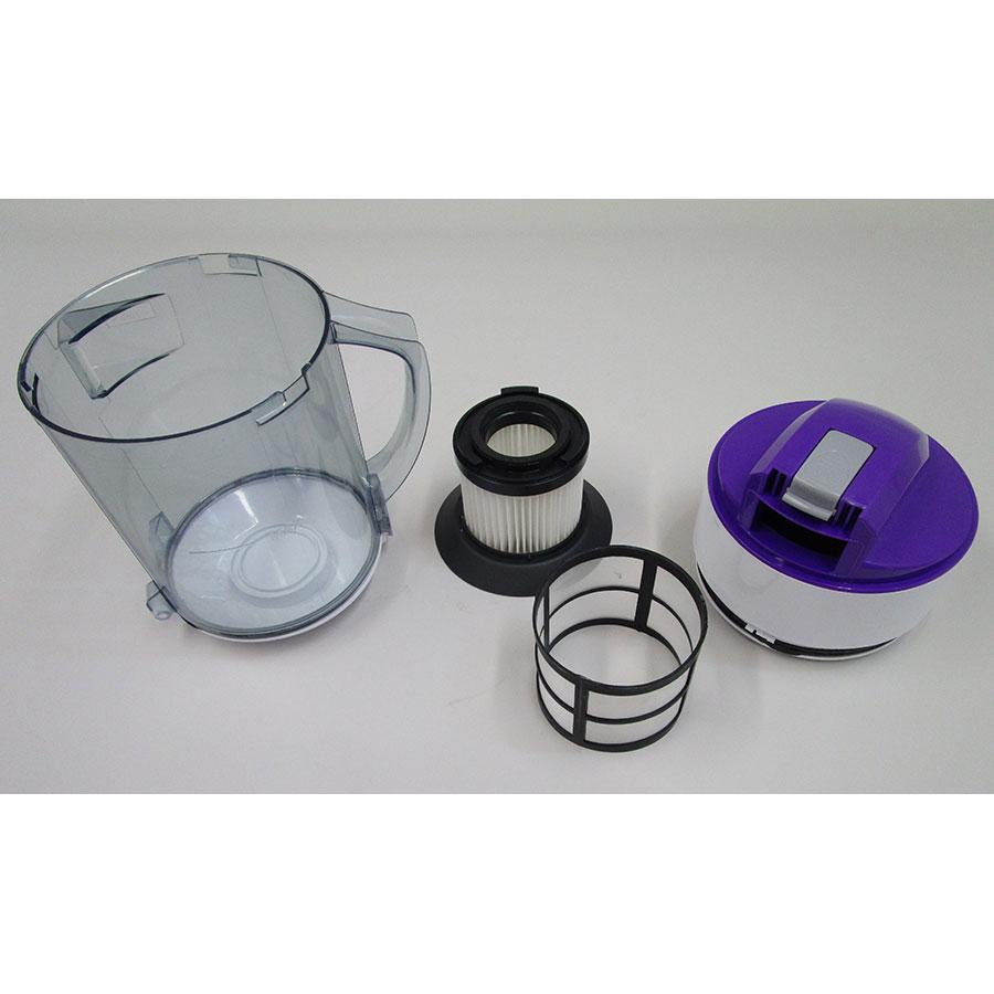 Elsay (E. Leclerc) JL-C4001 - Réservoir à poussières avec son filtre sorti