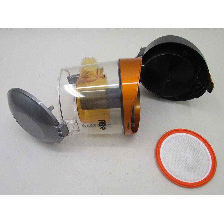 Far (Conforama) LEO CI - Réservoir à poussières avec son filtre