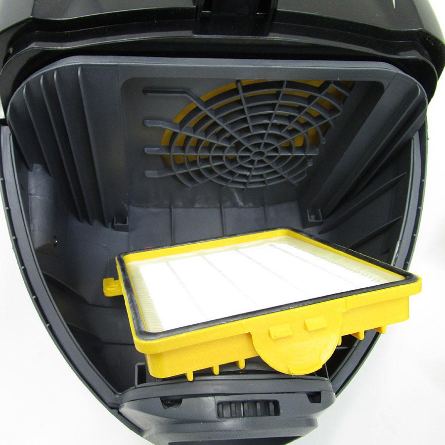 Hoover FV70 FV50 Freespace Evo - Filtre entrée moteur sorti