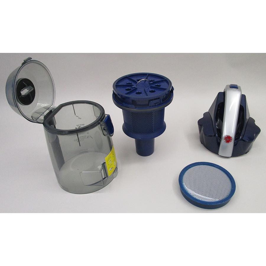 Hoover KS51PET Khross - Réservoir à poussières avec son filtre sorti