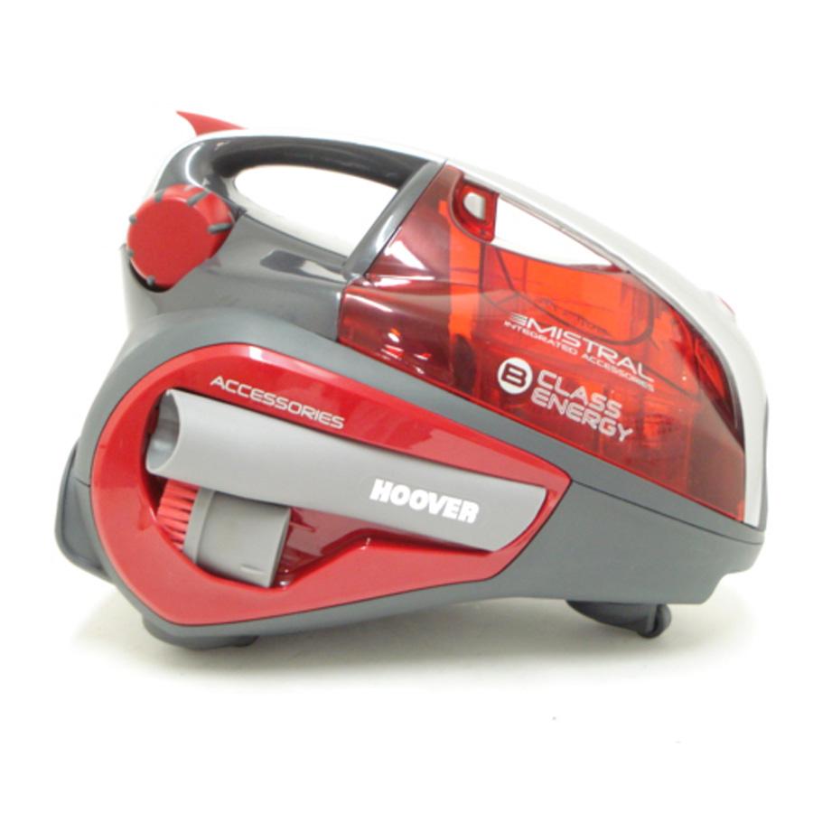 Hoover MI70-MI01 Mistral - Compartiment de rangement des accessoires