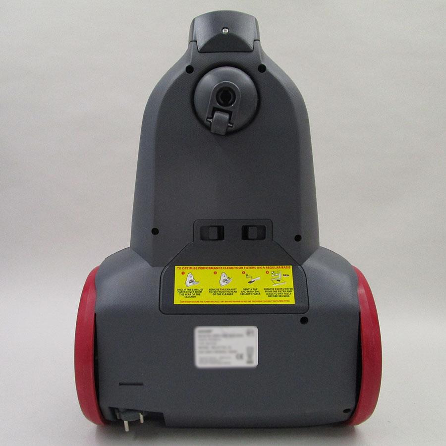 Hoover RC52SE Reactiv - Roulette pivotante à 360°