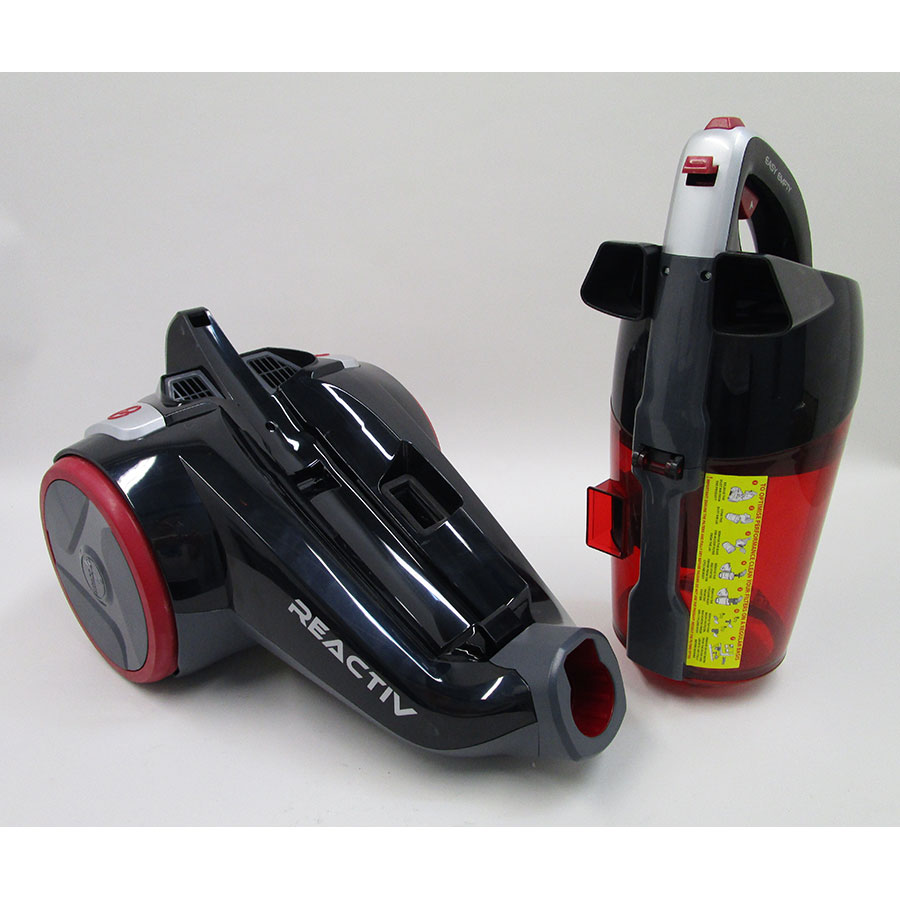 Hoover RC71 RC10 Reactiv - Bac à poussières sorti