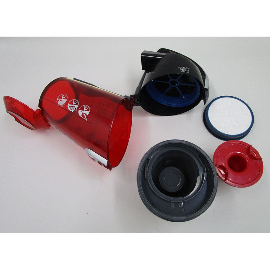Hoover RC71 RC10 Reactiv - Réservoir à poussières avec son filtre