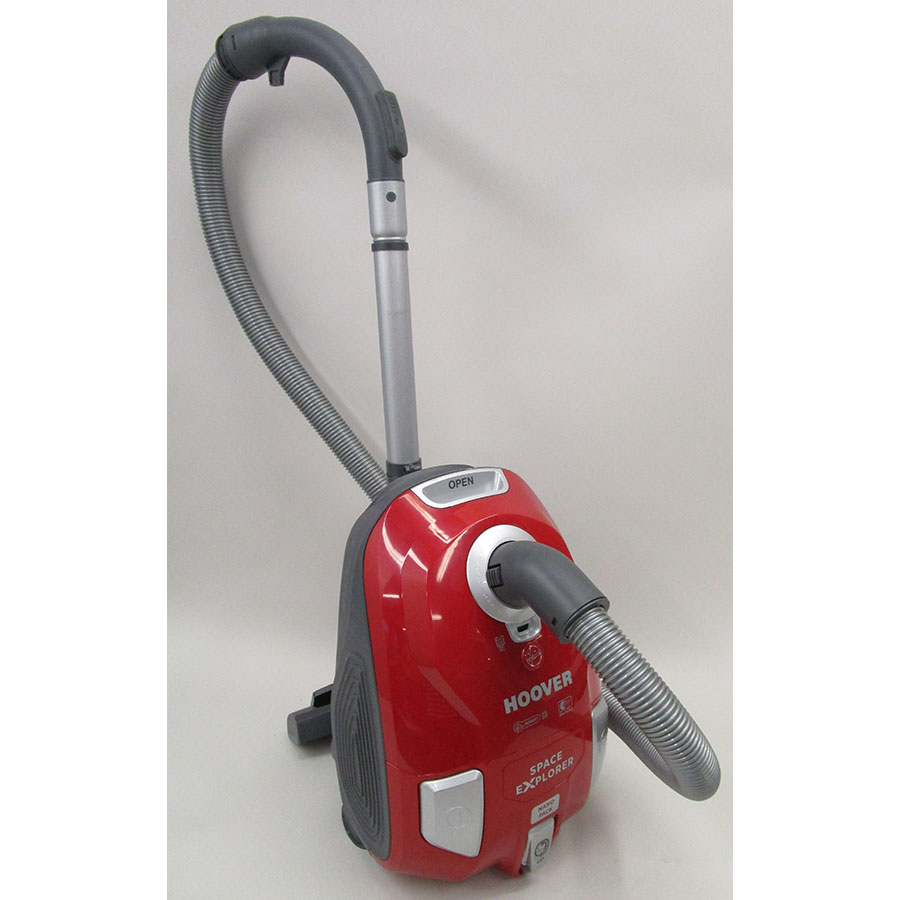 Hoover SL14PAR Space Explorer - Vue d'ensemble en position parking