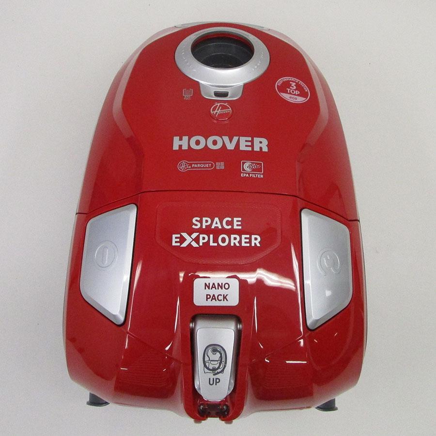 Hoover SL14PAR Space Explorer - Vue de dessus
