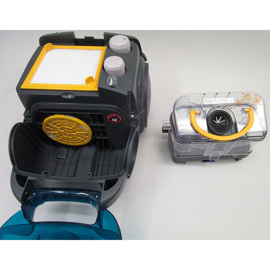 Hoover SO60PAR Sensory Evo - Bac à poussières sorti
