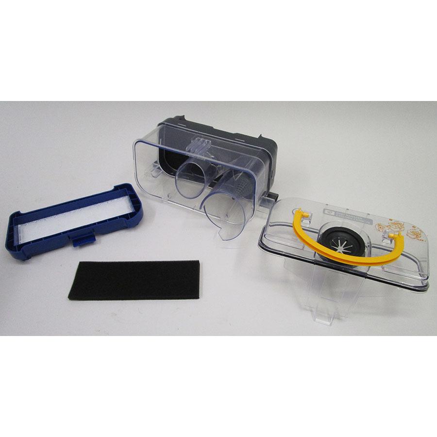 Hoover SO60PAR Sensory Evo - Réservoir à poussières avec son filtre sorti