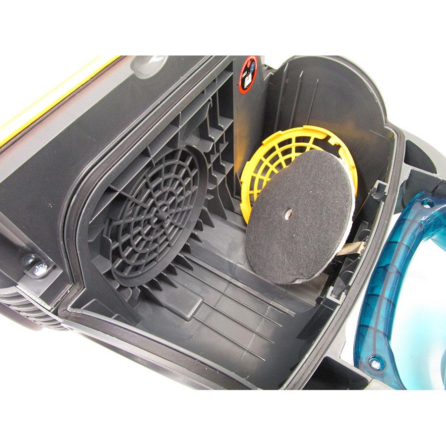 Hoover SO60PAR Sensory Evo - Filtre entrée moteur sorti