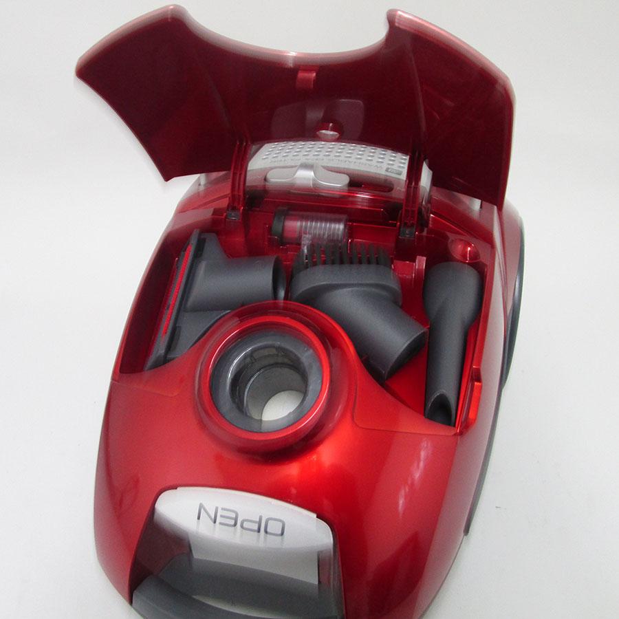 Hoover TE70_TE75-011 TeliosPlus Perfect4A - Compartiment de rangement des accessoires