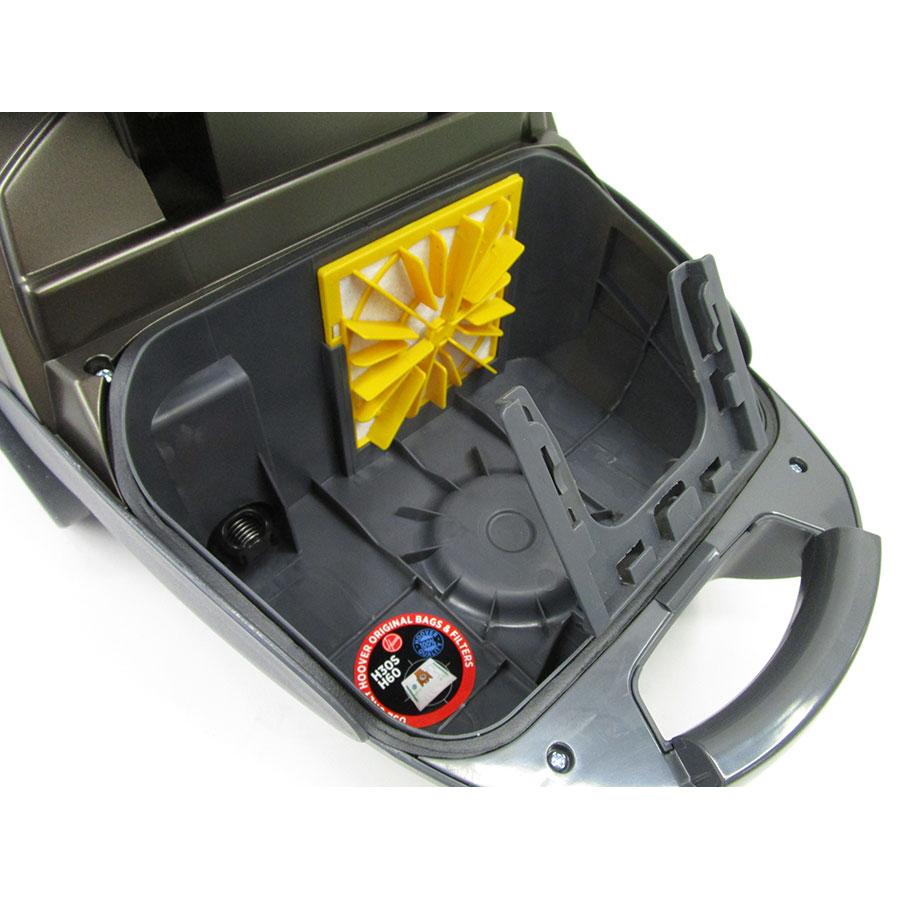 Hoover TE70_TE69 Telios Plus Pet - Filtre entrée moteur