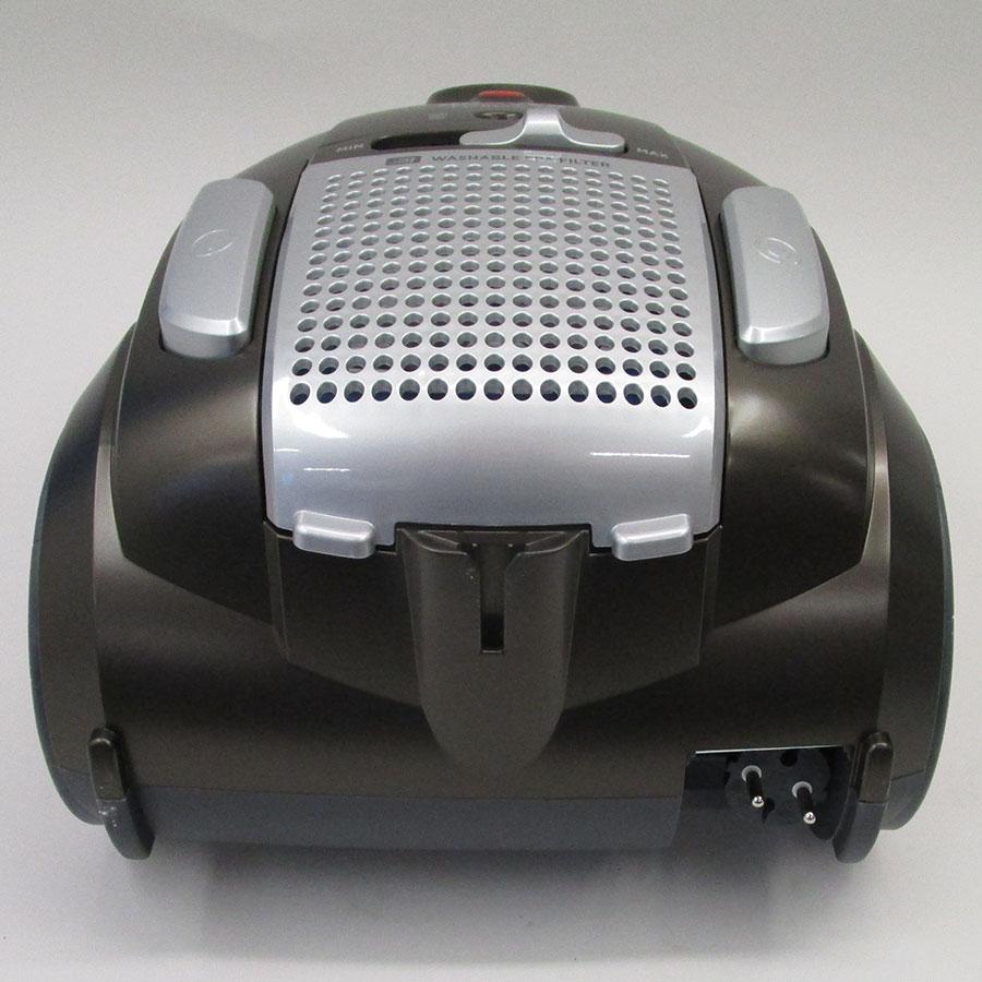 Hoover TE70_TE69 Telios Plus Pet - Fixe tube arrière et sortie de câble