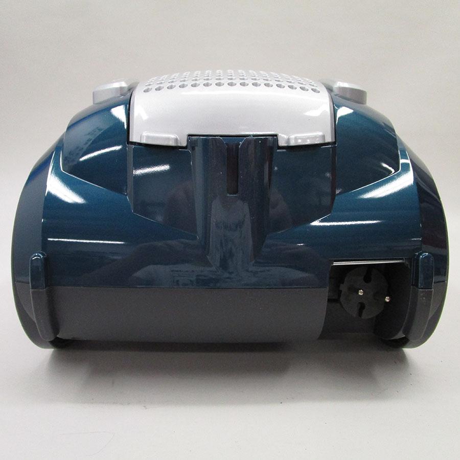 Hoover TE71 PET Telios Plus - Fixe tube arrière et sortie de câble