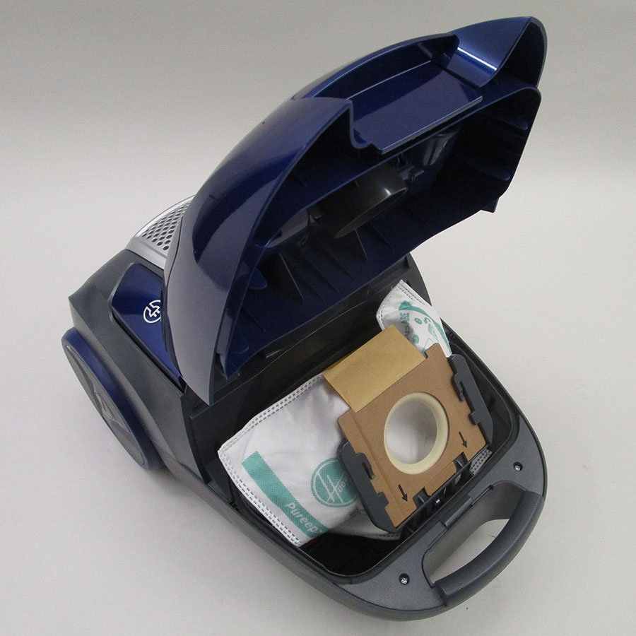 Hoover TX50PET Telios Extra - Compartiment à sac ouvert