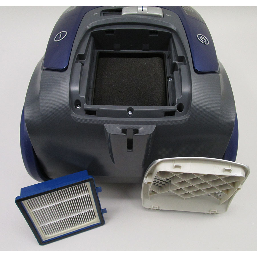 Hoover TX50PET Telios Extra - Filtre sortie moteur sorti