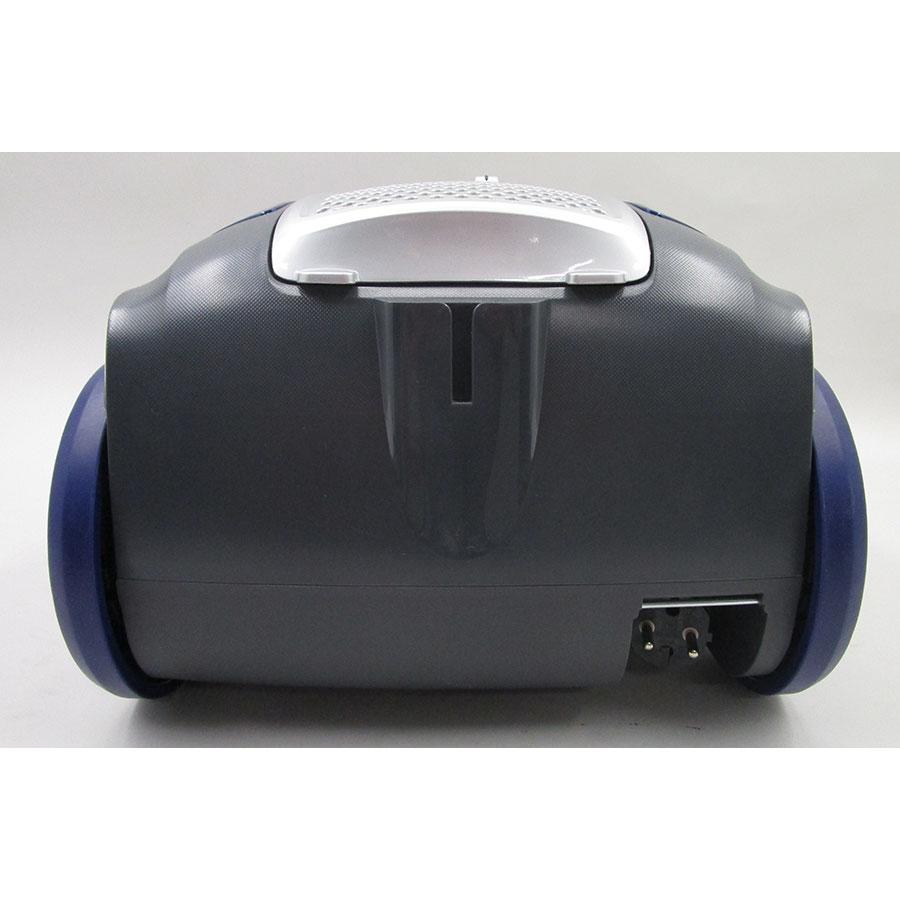 Hoover TX50PET Telios Extra - Fixe tube arrière et sortie de câble