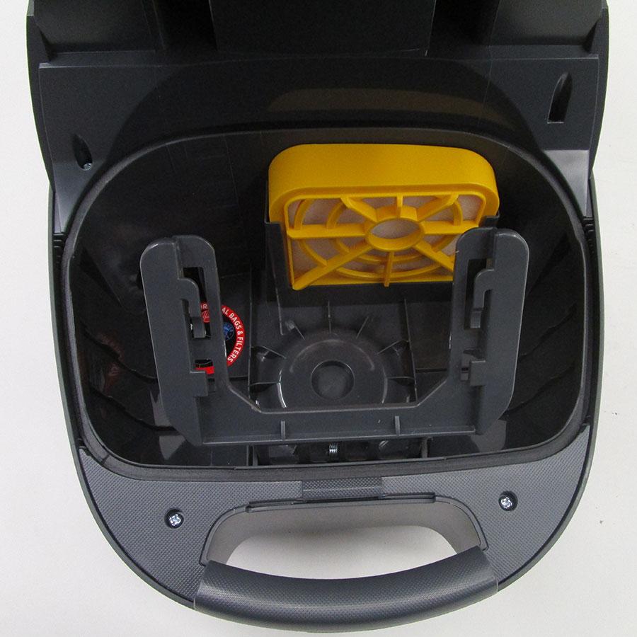 Hoover TX50PET Telios Extra - Filtre entrée moteur