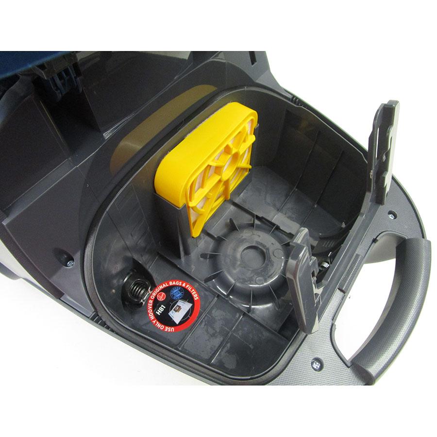 Hoover TX61PET Telios Extra - Filtre entrée moteur