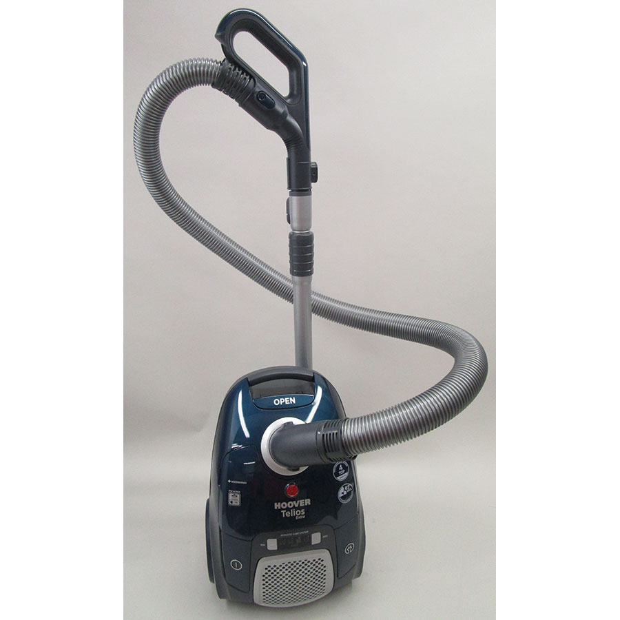 Hoover TX61PET Telios Extra - Vue d'ensemble en position parking